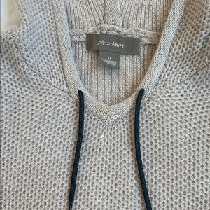 ply cashmere Sweaters - Ply Cashmere Waffle Hoodie Sweater